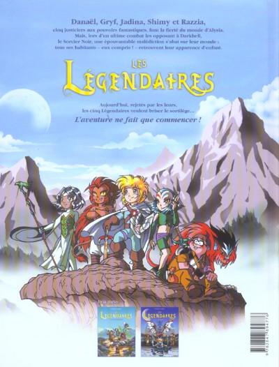 Dos Les légendaires tome 2