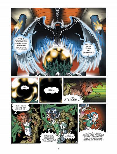 Page 4 Les légendaires tome 2