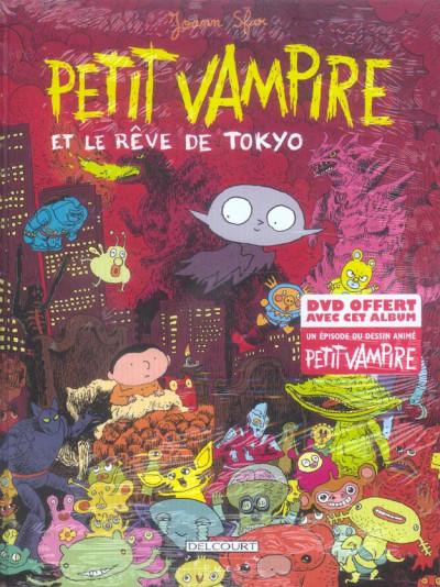 Couverture petit vampire tome 7 - petit vampire part à tokyo