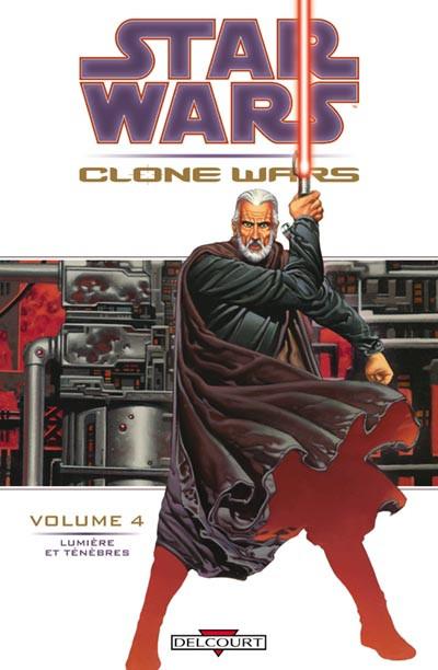 image de star wars - clone wars tome 4 - lumière et ténèbres