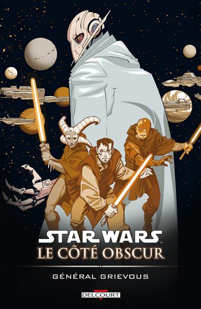 Couverture star wars - le cote obscur tome 4 - general grievous
