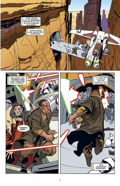 Page 8 star wars - le cote obscur tome 4 - general grievous