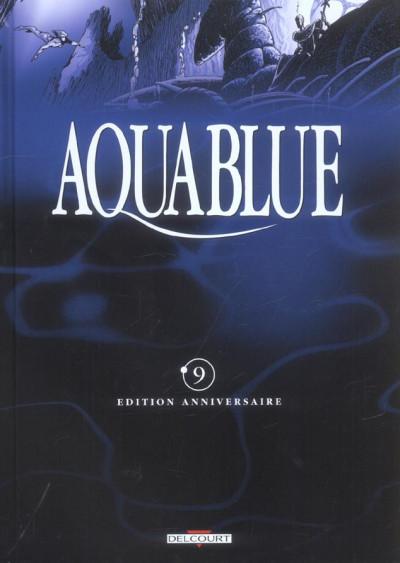 Couverture aquablue tome 9 - le totem des cynos (édition anniversaire)