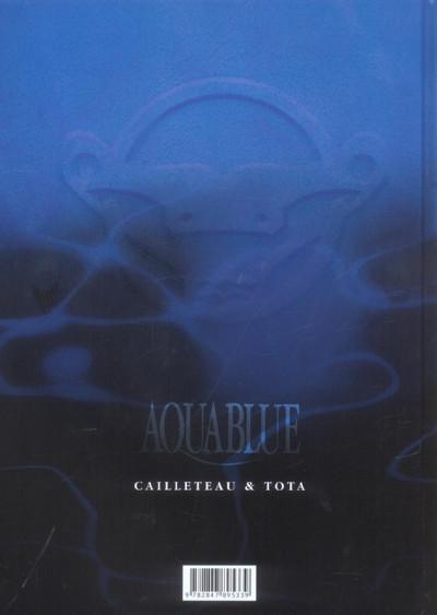 Dos aquablue tome 9 - le totem des cynos (édition anniversaire)
