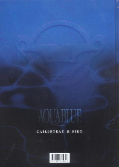 Dos Aquablue - édition anniversaire tome 10 - le baiser d'arakh