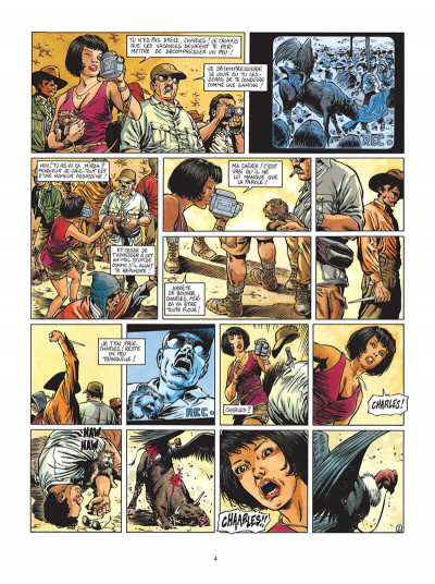 Page 5 le chant des stryges tome 2 - saison 1 - pièges