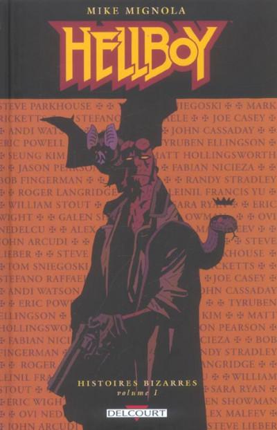 Couverture hellboy - histoires bizarres tome 1