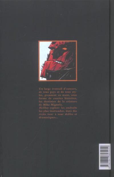 Dos hellboy - histoires bizarres tome 1