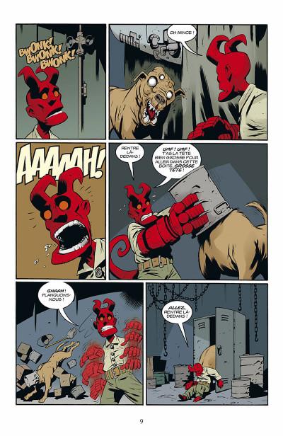 Page 0 hellboy - histoires bizarres tome 1