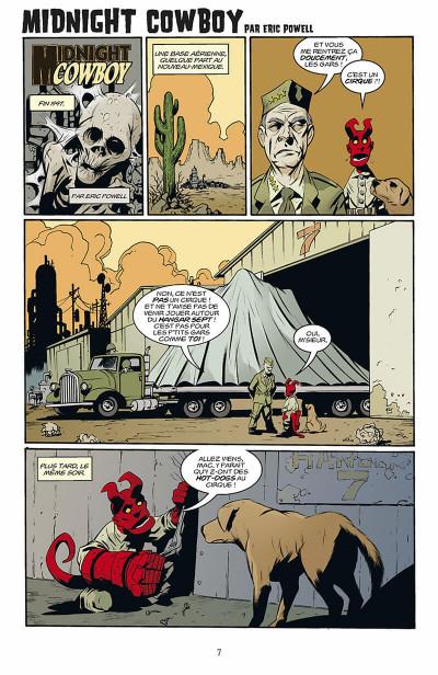 Page 8 hellboy - histoires bizarres tome 1