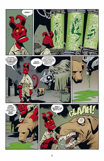Page 9 hellboy - histoires bizarres tome 1