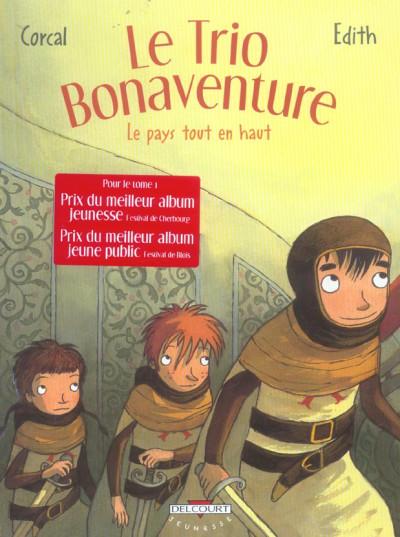 image de le trio bonaventure tome 2 - le pays tout en haut