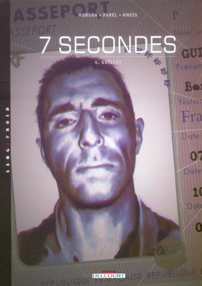 Couverture 7 secondes tome 4 - guillot