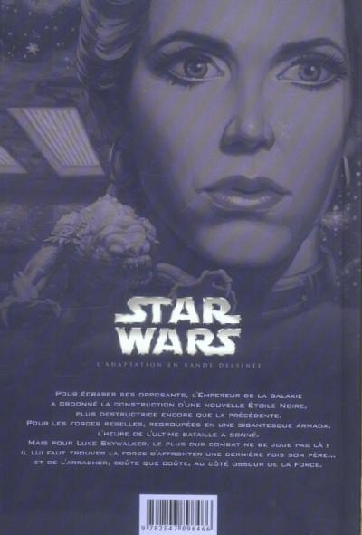 Dos Star Wars épisode VI - Le retour du Jedi