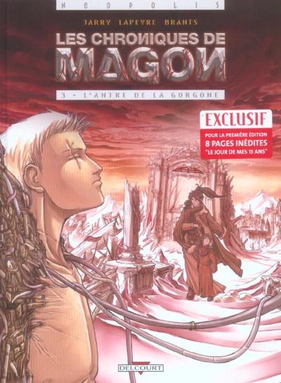 image de les chroniques de magon tome 3 - l'antre de la gorgone
