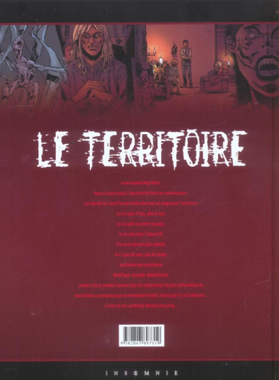 Dos le territoire tome 3 - disparition