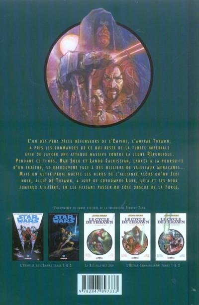 Dos star wars - le cycle de thrawn tome 2 - la bataille des jedi