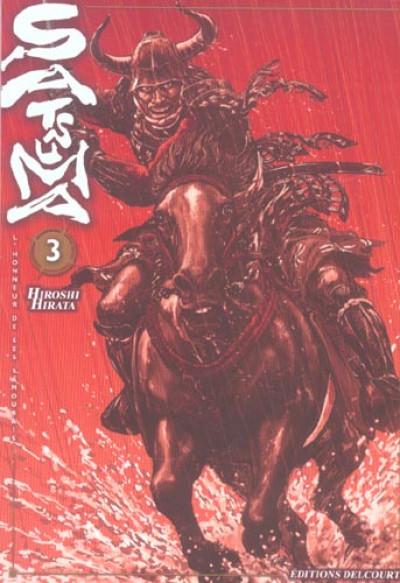 Couverture satsuma, l'honneur des samourai tome 3