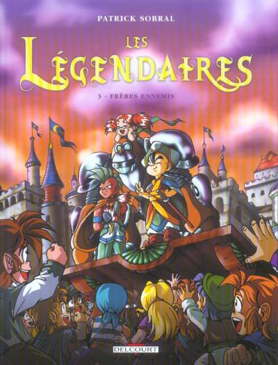 Couverture Les légendaires tome 3
