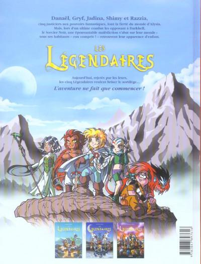 Dos Les légendaires tome 3