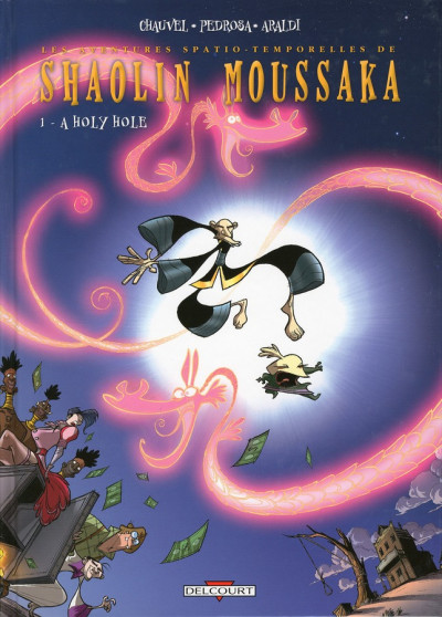 Couverture shaolin moussaka tome 1