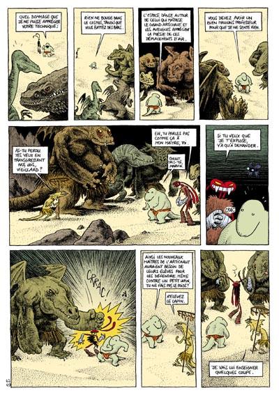 Page 1 donjon crépuscule tome 104 - le dojo du lagon