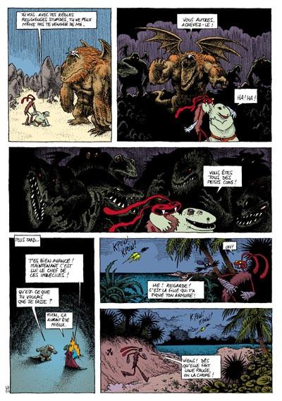 Page 3 donjon crépuscule tome 104 - le dojo du lagon