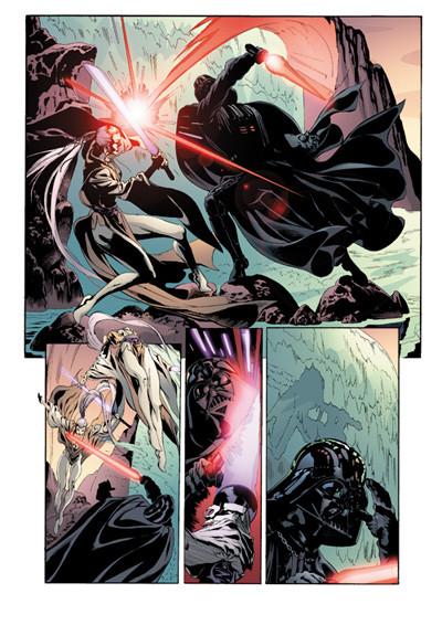 Page 3 star wars - le cote obscur tome 5 - le destin de dark vador