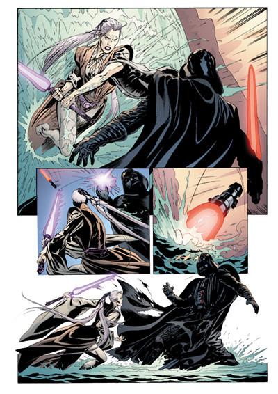 Page 4 star wars - le cote obscur tome 5 - le destin de dark vador