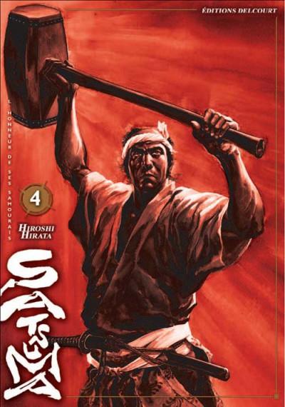 image de satsuma, l'honneur des samourai tome 4