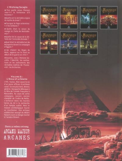 Dos l'histoire secrète tome 6 - l'aigle et le sphinx
