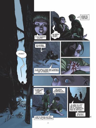 Page 4 le clan des chimères tome 5 - secret