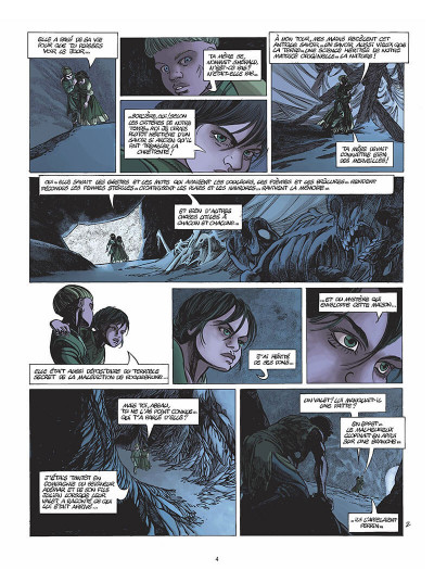 Page 5 le clan des chimères tome 5 - secret