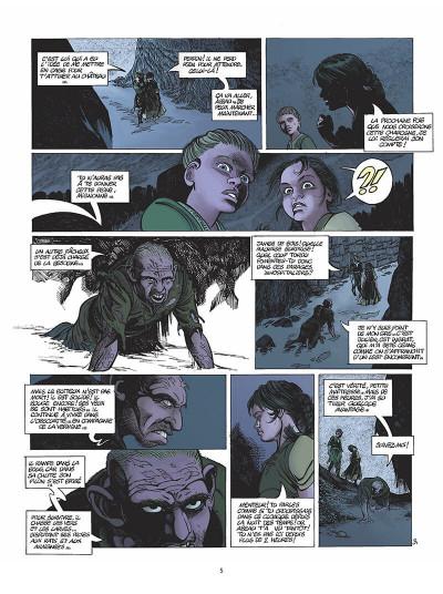 Page 6 le clan des chimères tome 5 - secret