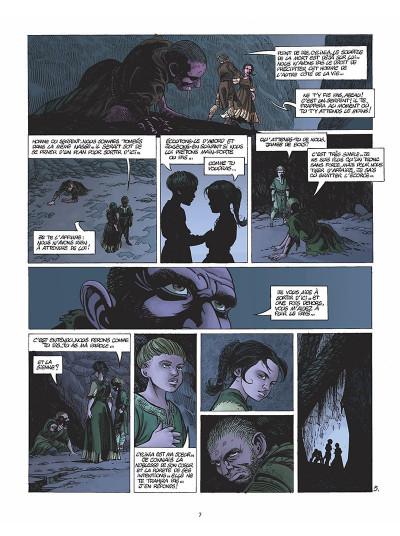 Page 8 le clan des chimères tome 5 - secret