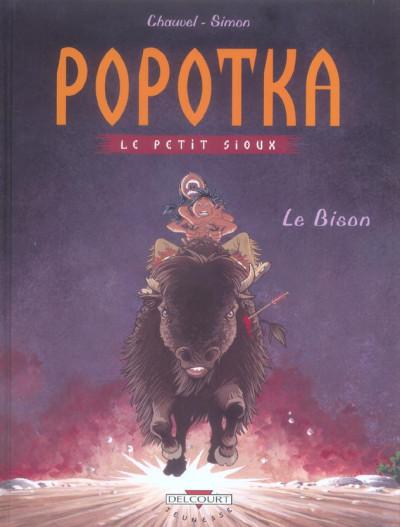 image de popotka le petit sioux tome 6 - le bison