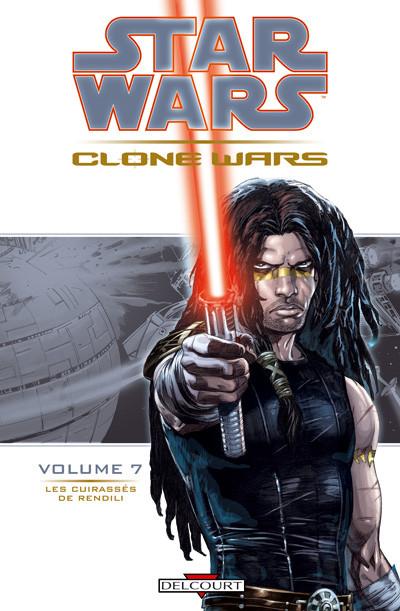 Couverture star wars - clone wars tome 7 - les cuirasses de rendili