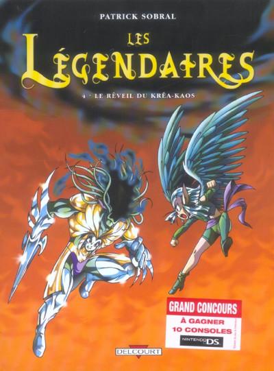 Couverture Les légendaires tome 4