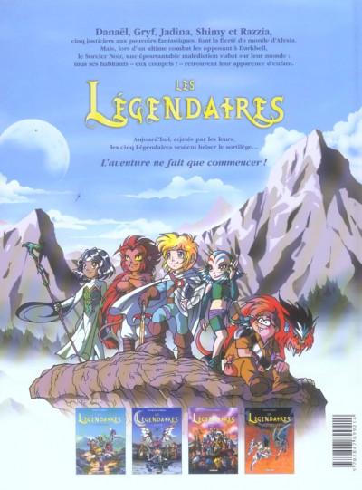 Dos Les légendaires tome 4