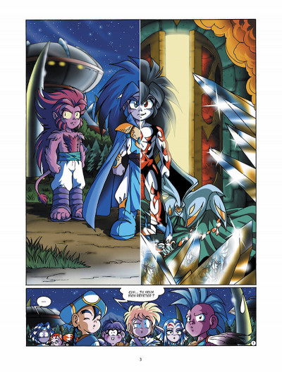 Page 4 Les légendaires tome 4