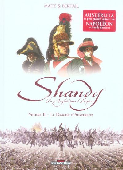 image de shandy, un anglais dans l'empire tome 2 - le soleil d'austerlitz