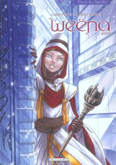 Couverture weena tome 4 - union