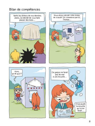 Page 8 Mortelle Adèle tome 5