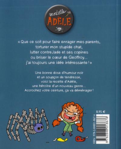 Dos Mortelle Adèle tome 1 - tout ça finira mal !