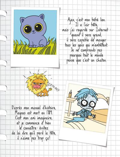 Page 4 mortelle Adèle T.3 - c'est pas ma faute !
