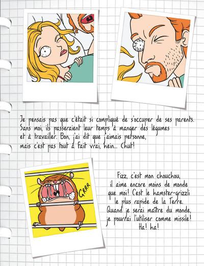 Page 6 mortelle Adèle T.3 - c'est pas ma faute !