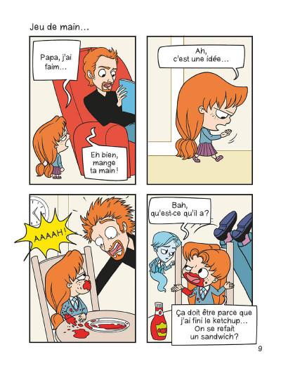 Page 8 mortelle Adèle T.3 - c'est pas ma faute !