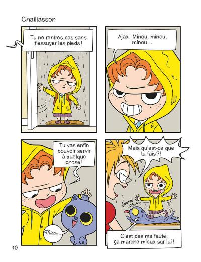 Page 9 mortelle Adèle T.3 - c'est pas ma faute !