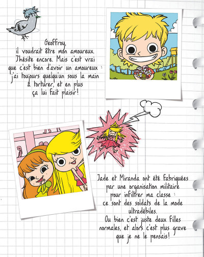 Page 5 mortelle Adèle T.4 - j'aime pas l'amour !