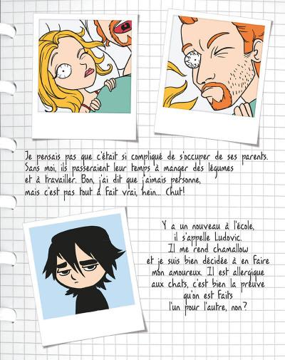 Page 6 mortelle Adèle T.4 - j'aime pas l'amour !